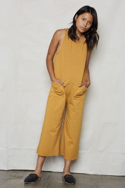 Everyday Jumpsuit Organic Cotton Back Beat Rags
