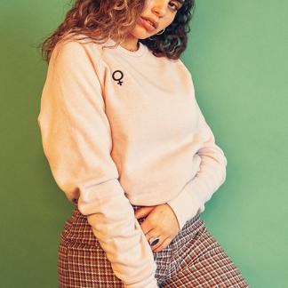 Femme Sweatshirt Soft Pink Darling Distraction