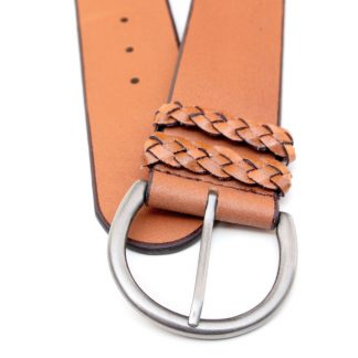 Simple Details Leather Belt