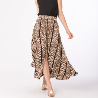 Bennet Chestnut Temple Skirt Bel Kazan