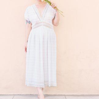 Boho and Lace Maxi Dress