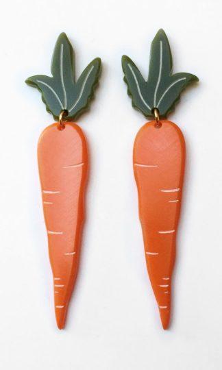 Woll Jewelry Carrot Earrings