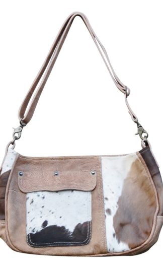 Ranch Leather Satchel Bag