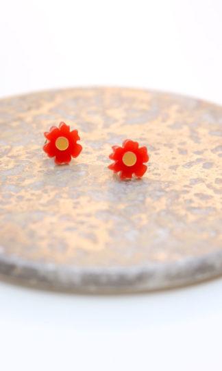 Woll Jewelry Poppy Studs