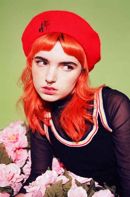 Wilted Rose Beret Darling Distraction