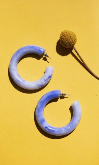 Poppy Hoop Earrings Casa Clara