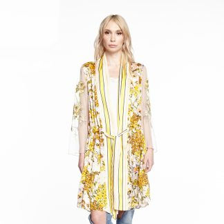 Yellow Garden Kimono Aratta