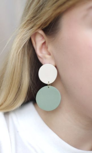 Sage Earrings Xenia Studio