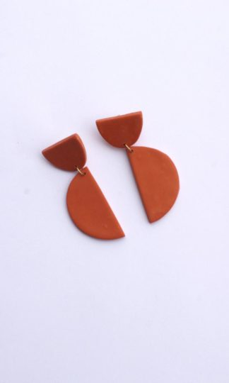 Tangerine Earrings Xenia Studio