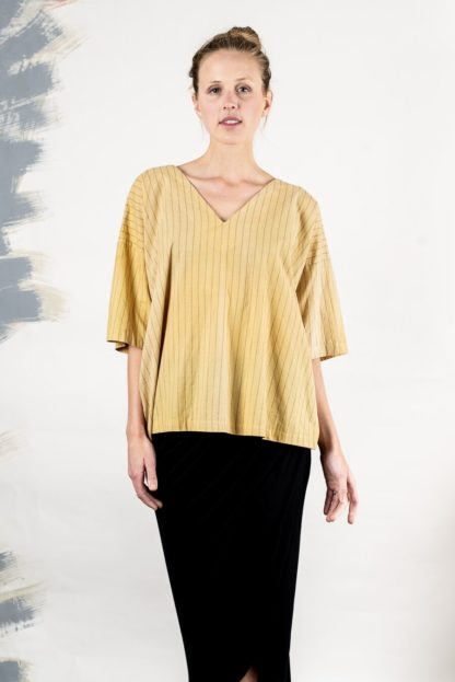 Naturally Dyed Veha Top Tonle'