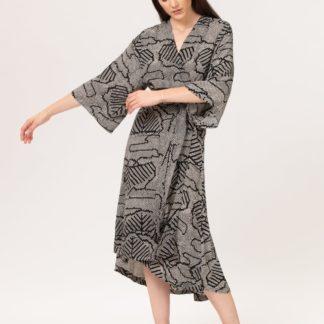 Royya Kimono Dress Bel Kazan