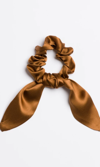 Stagecoach Mama Silk Scrunchie Tie I'm With The Band