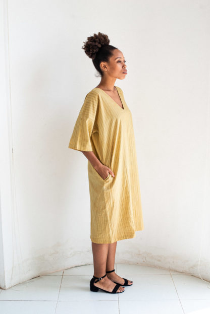 Naturally Dyed Veha Dress Tonle'