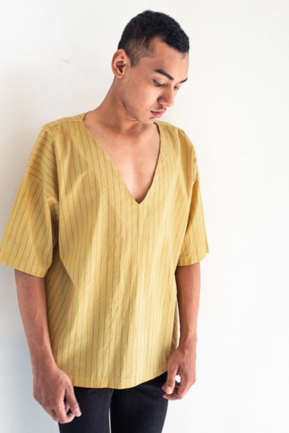 Naturally Dyed Veha Top by Tonle'