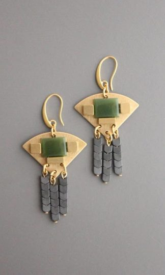 David Aubrey Vintage Glass Earrings