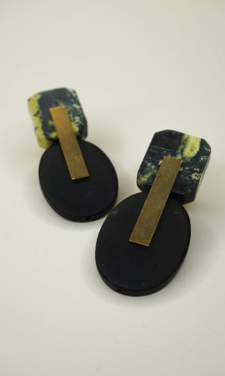 David Aubrey Agate Earrings