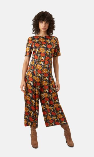 Traffic People Royal Floral Bianca Jumpsuit