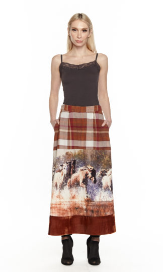 Aratta In The Saddle Maxi Skirt