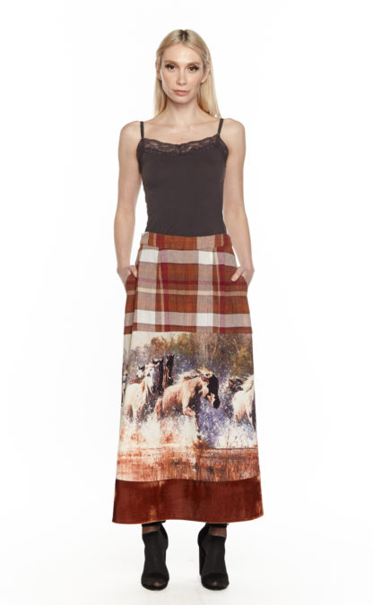 Aratta In The Saddle Maxi Skirt
