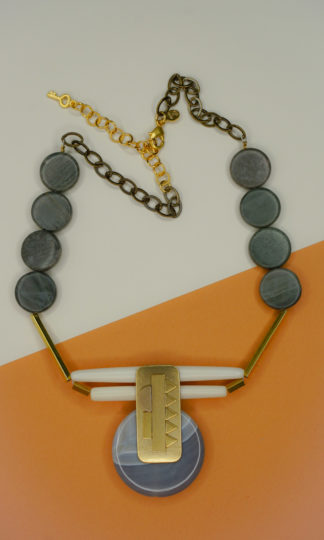 "David Aubrey 19"" Reversible Necklace"
