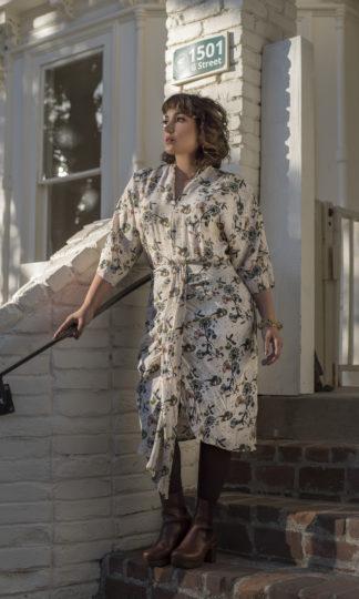 Bel Kazan Fidel Dandelion Dress