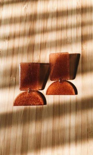 Tumble Pillar Earrings