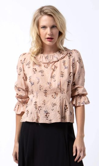 Cameo Sienna Ruffle Neck Top