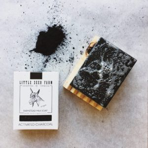 Little Seed Farm Activated Charcoal Face & Body Bar