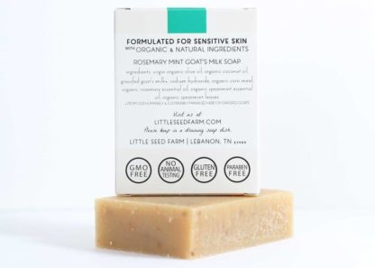 Little Seed Farm Rosemary Mint Scrub Bar