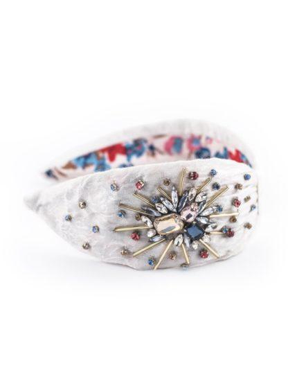 NamJosh Jeweled Fireworks Headband