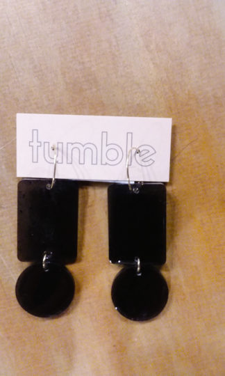 Tumble Exclamation Earrings