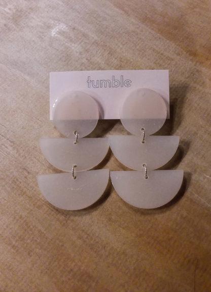 Tumble Moon Cycle Earrings