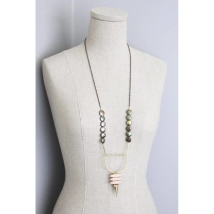 Fresh Water Pearl Deco Necklace