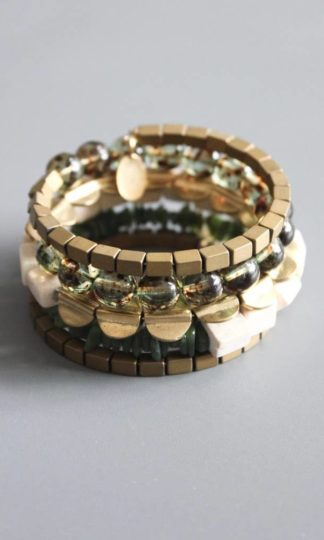 David Aubrey Seagrass Wrap Bracelet