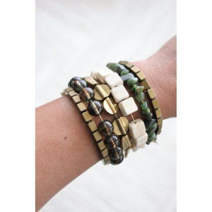 David Aubrey Seagrass Wrap Bracelet