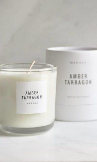 Makana Amber Tarragon Candle
