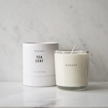 Makana Tea Leaf Candle