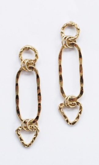 Mata Traders Shape Link Earrings