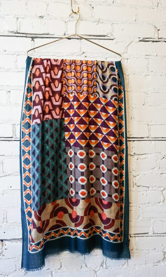 Playful Pattern Scarf from Vismaya