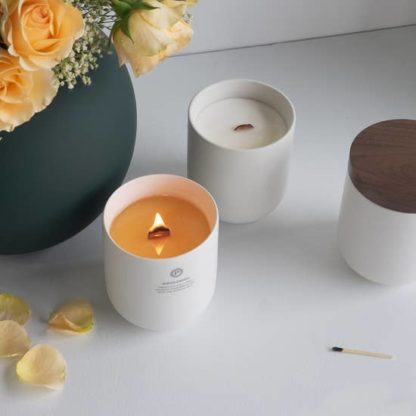 Penrose Candles Ceramic Candle