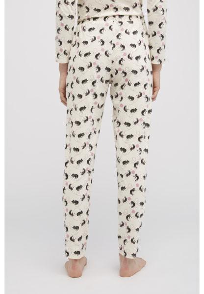 People Tree Cat Print Pyjama Trousers