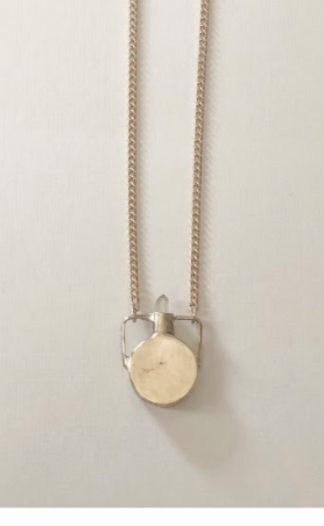 heron and Lamb Petite Canteen Necklace