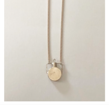 heron and Lamb Petite Canteen Necklace