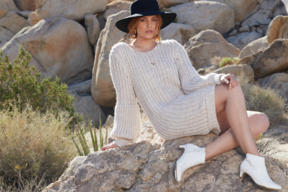 Scandal Gloria Sweater Dress