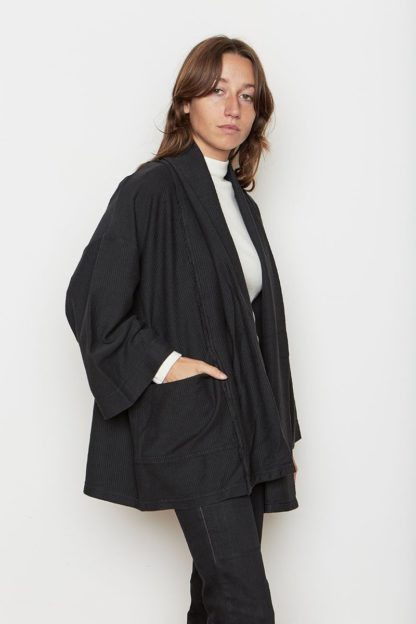 Back Beat Rags Abbot Knit Robe