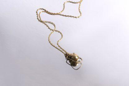 Petite Artifact Necklace Heron + Lamb