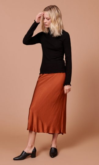 Whimsy and Row Diana Skirt Rust