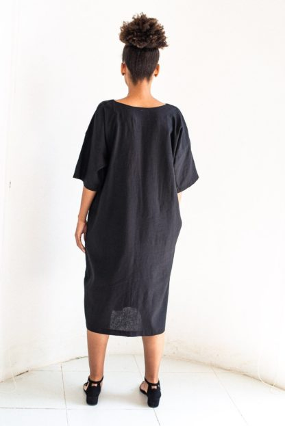 Veha Dress Black Tonle