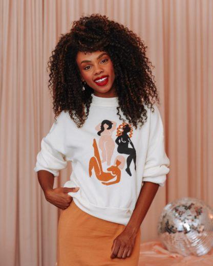 Wild Women Sweatshirt Dazey LA