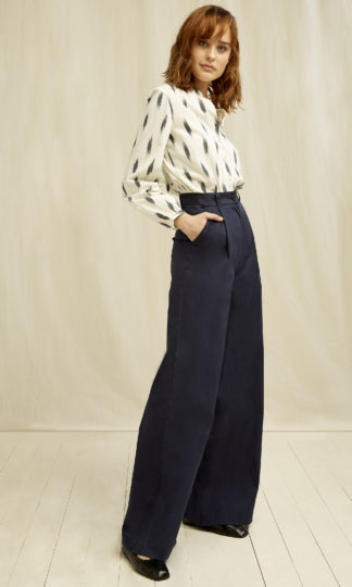 Eve High Waisted Trousers People Tree